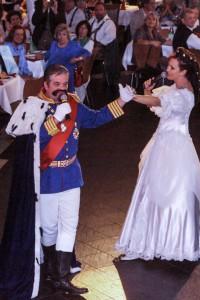 König Ludwig und Sissi Show