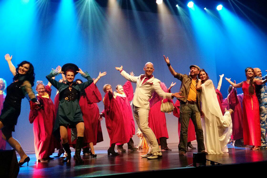 "Musical – ""One-Way Ticket to Heaven"""