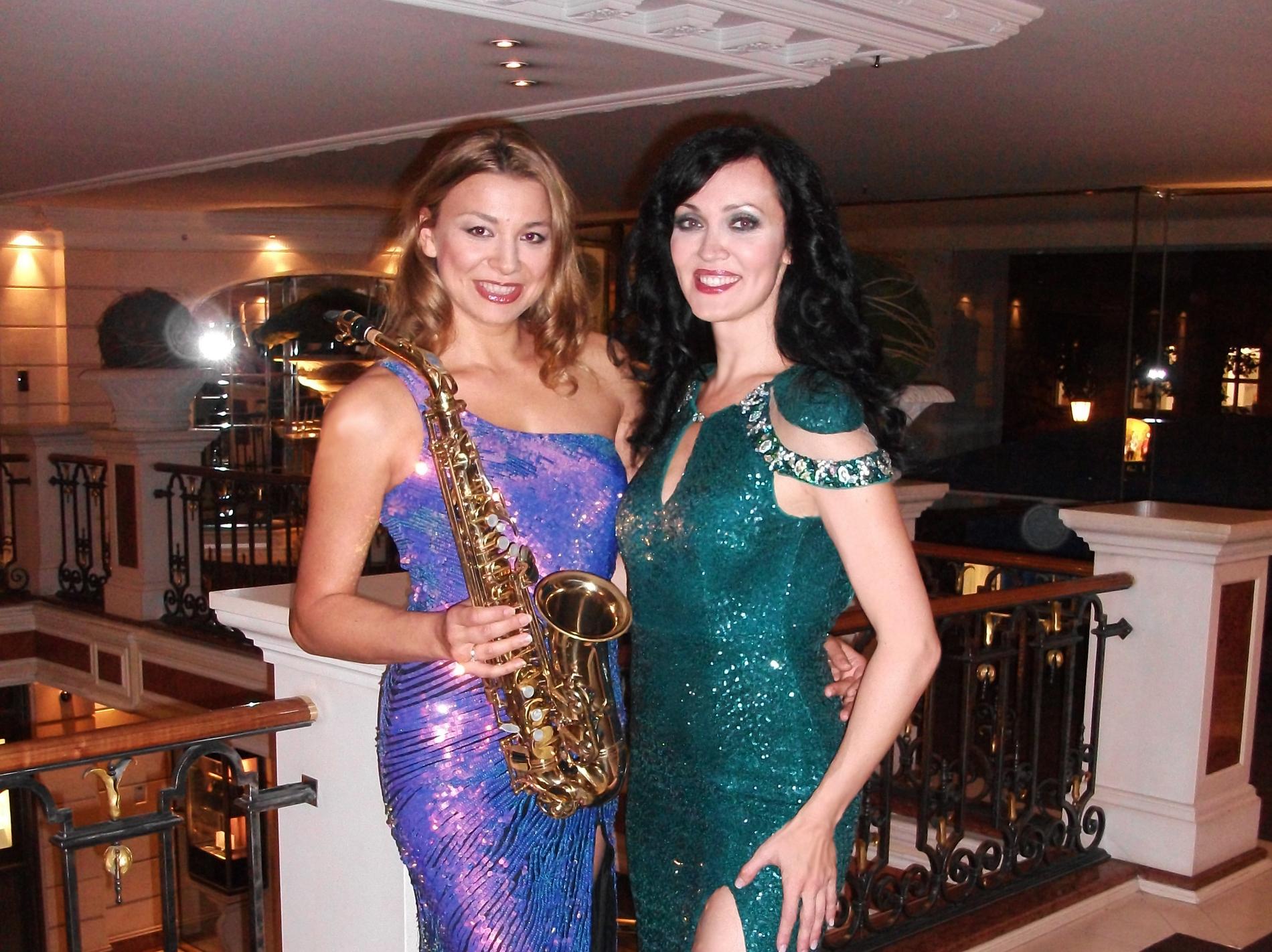 Sängerin und saxophonistin München für ihre suche
